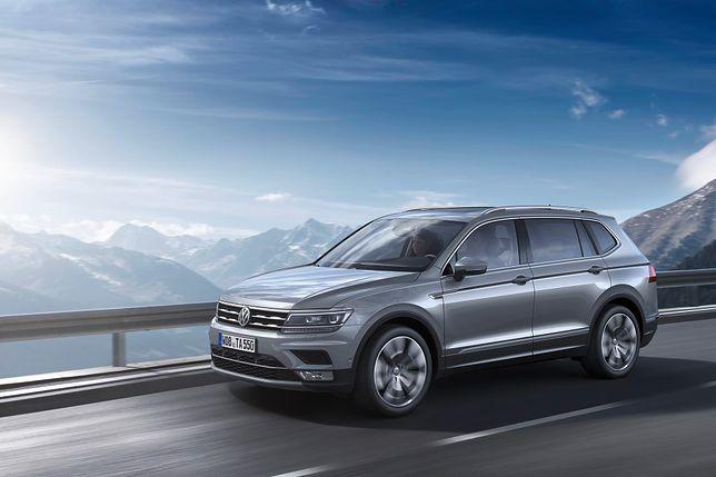 Volkswagen Tiguan Allspace (2017) - jeszcze większy i praktyczniejszy
