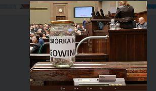 Posłowie opozycji zorganizowali zbiórkę dla Jarosława Gowina