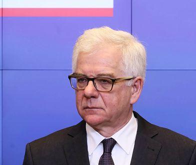 Jacek Czaputowicz uważa, że Małgorzata Gersdorf nie jest I prezes Sądu Najwyższego