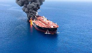 Najpierw atak na tankowce, a potem na drona USA. Iran wystrzelił pocisk