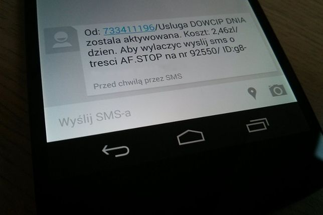 Nexus 5 SMS