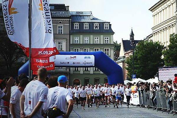 W niedzielę Kraków Business Run - kilka ulic będzie wyłączonych z ruchu