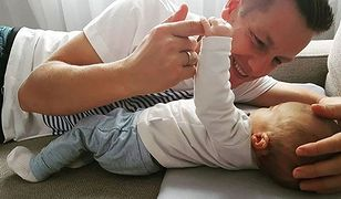 Aktor pokazał urocze zdjęcie z synkiem. Konkurencja dla Lewego