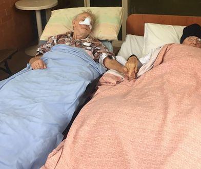 90-latek chciał pożegnać się przed śmiercią z żoną. Gest ratowników medycznych wzrusza do łez