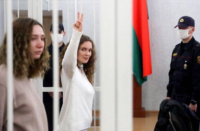 Białoruś. Dziennikarki Biełsatu Kaciaryna Andrejewa i Daria Czulcowa skazane