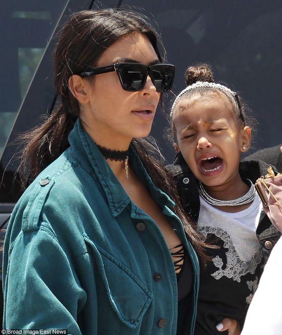Kim Kardashian z North