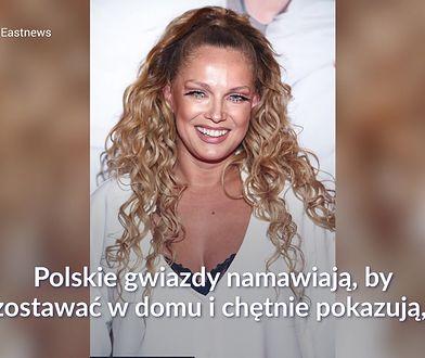 Joanna Liszowska pokazuje prawdziwą twarz na kwarantannie