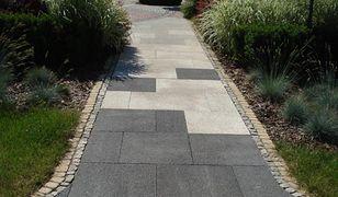 Ścieżki ogrodowe z płyt betonowych