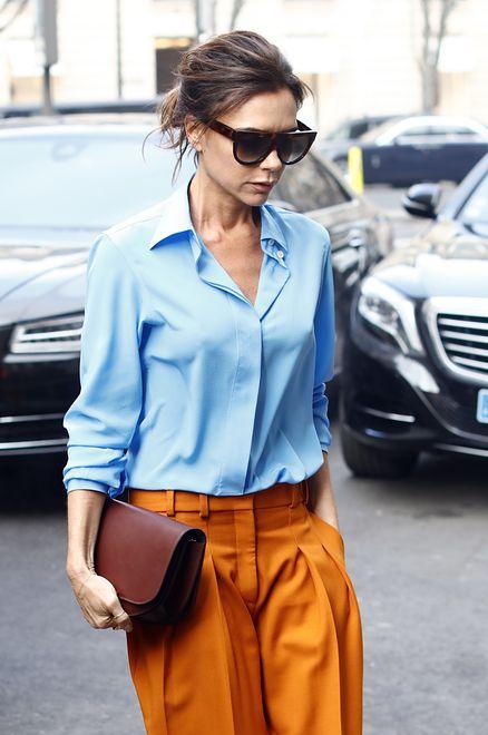 Victoria Beckham na Paris Fashion Week