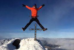 Zimowe wejście na Gerlach. Niezwykłe wideo przebojem w sieci