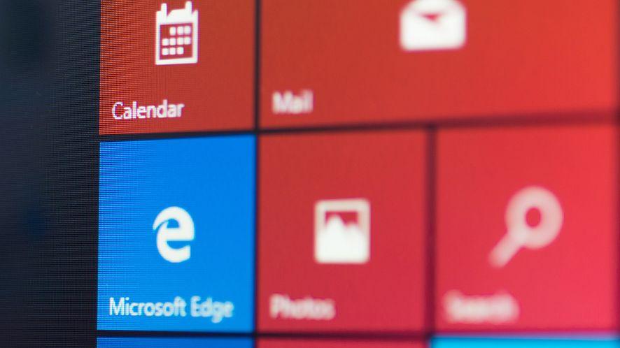 Menu Start w Windows 10 z depositphotos