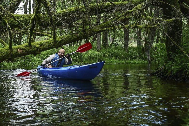 Kajakiem przez las? Leśnicy polecają miejsca w Polsce