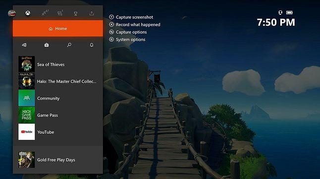 Od teraz pasek boczny na Xbox One będzie jeszcze bardziej uproszczony, fot. Thurrot.com