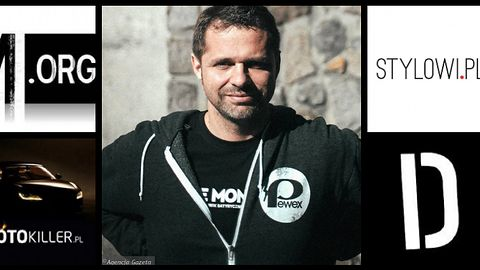 Mariusz Składanowski — wyluzowany twórca serwisu Demotywatory.pl i wielu jemu podobnych