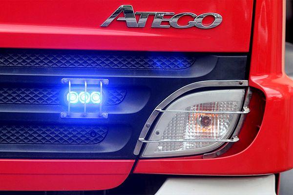 Wypadek i pożar awionetki na lotnisku w Zegrzu Pomorskim