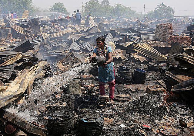 Pół tys. domów, po których zostały zgliszcza - zdjęcia