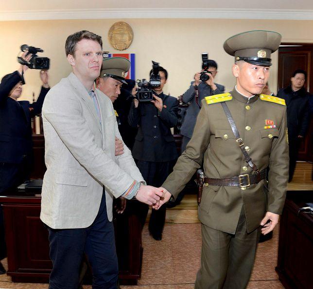 Otto Warmbier pojechał do Korei Płn. na krótki urlop.
