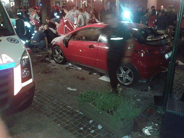 Kierowca taranował ludzi na Monciaku w Sopocie. Są wyniki badań psychiatrycznych