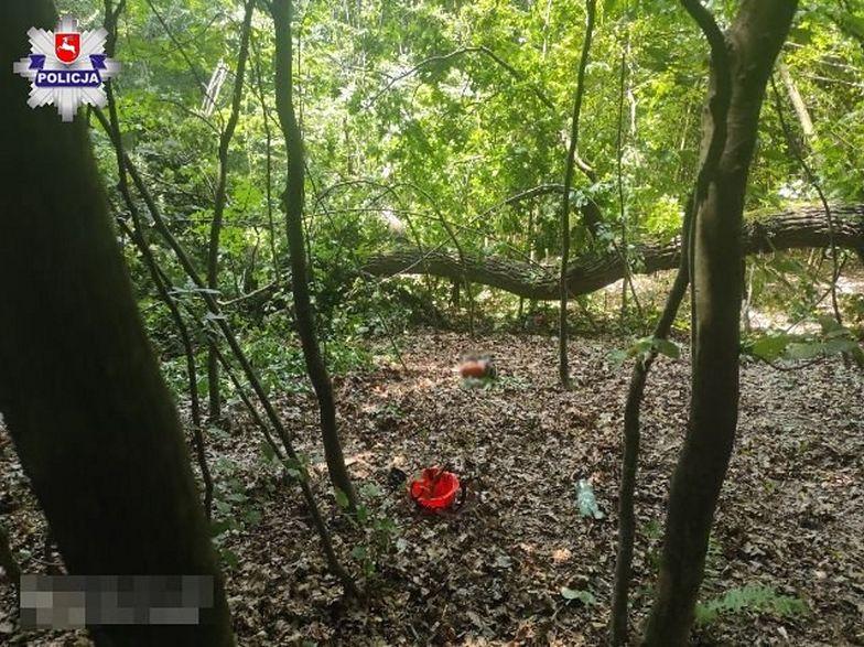 Wypadek w lesie. Nie żyje 41-latek