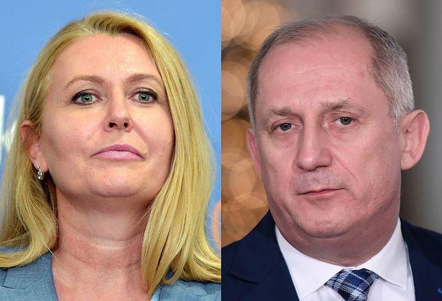 Elżbieta Łukacijewska i Sławomir Neumann
