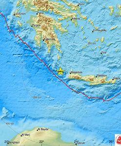 Grecja. Silne trzęsienie ziemi na Krecie