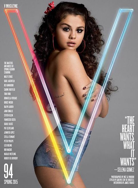 Selena Gomez upozowana na lolitkę