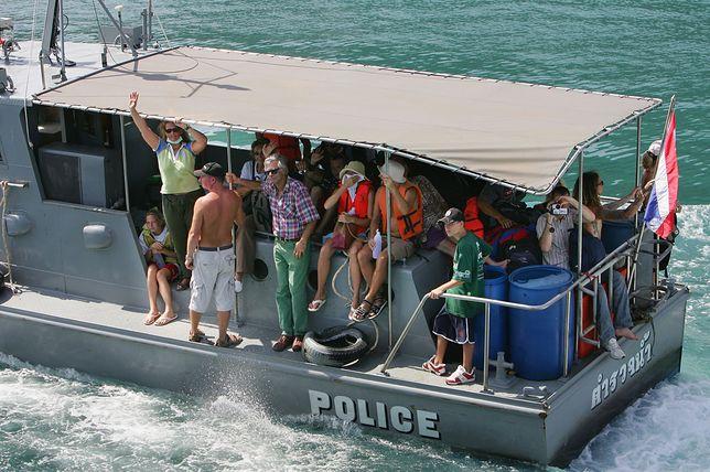 Tajlandia: katastrofy łodzi z turystami. 7 osób uznane za zaginione