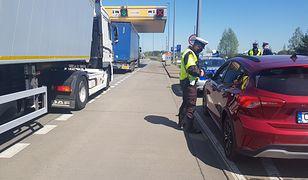 Wrocław. Wypadek na autostradzie A4. Utworzył się długi korek