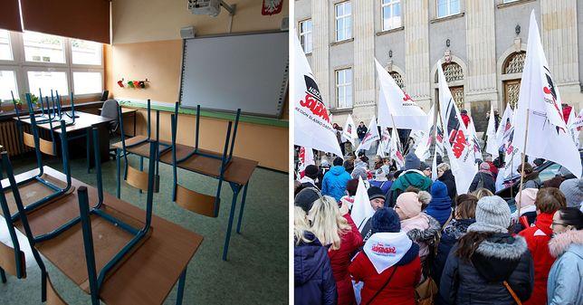 Internauci zagłosowali za strajkiem nauczycieli
