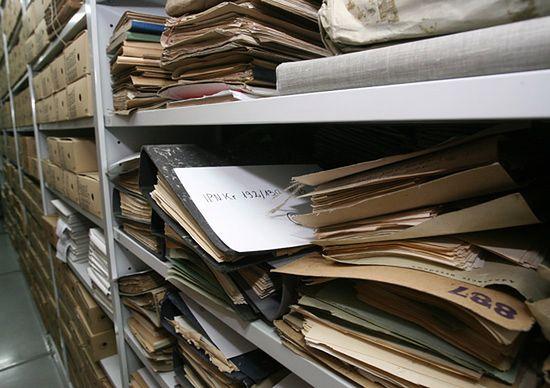 Rosjan nie interesują polskie archiwa