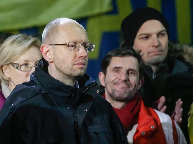 Na Majdanie odczytano nazwiska kandydatów - zdjęcia