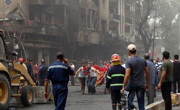 Miejsce ataku, do którego przyznało się IS