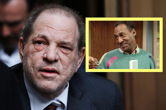 Bill Cosby dobrze wie, co czuje Harvey Weinstein