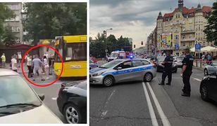 Dramat w Katowicach. Kierowca autobusu staranował grupę ludzi. Nie żyje 19-latka