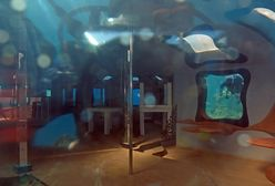 Podwodny klub ze striptizem. Został odnaleziony przez nurka