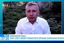 Zbigniew Rau nowym szefem MSZ. Bartosz Arłukowicz: jest człowiekiem radykalnego skrzydła