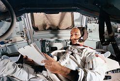 """Nie żyje Michael Collins. """"Zapomniany astronauta"""" z Apollo 11 poleciał na Księżyc"""