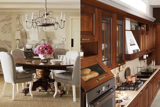 Klasyczne wnętrza domów prezentują się efektownie i z klasą