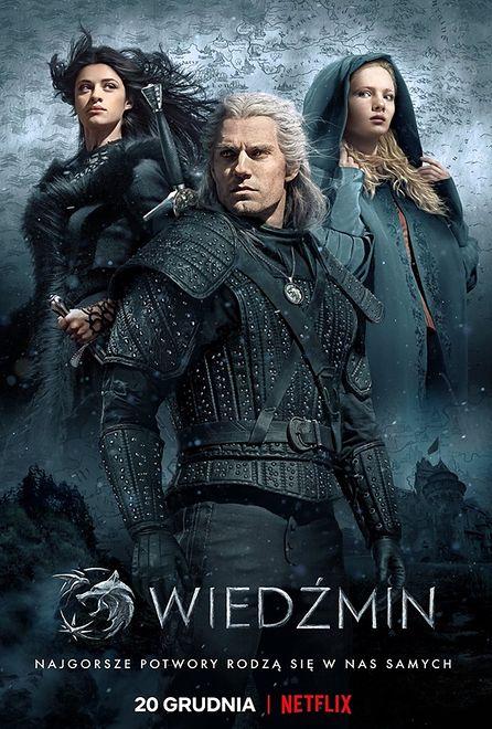 """Oficjalny plakat serialu """"Wiedźmin"""""""