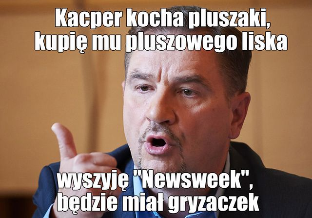 Piotr Duda i pies Kacperek - memy