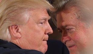 Donald Trump i Steve Bannon