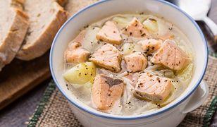 Przepisy na zupy rybne