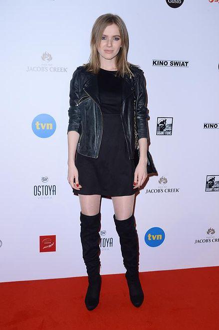 "Joanna Majstrak na premierze filmu ""Planeta Singli"""