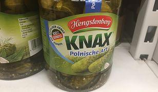 Ogórki polskie, ale niemieckie. To oferta firmy spod Stuttgartu