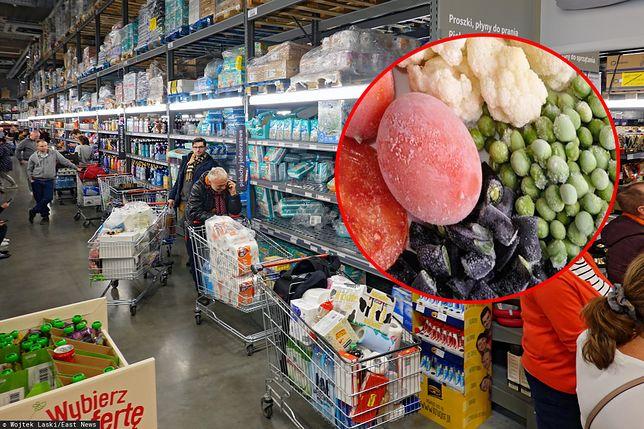 Zbyt duże zapasy jedzenia mogą spowodować masowe marnowanie żywności.