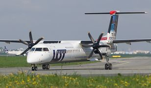 Piloci bardzo skrupulatnie podchodzą do kwestii bezpieczeństwa w samolotach Bombardier Dash 8.