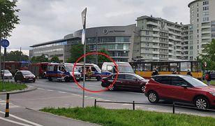Warszawa. Wypadek na Ochocie
