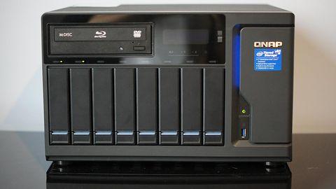 QNAP TVS-882BR: test profesjonalnego dysku sieciowego z nagrywarką Blu-ray