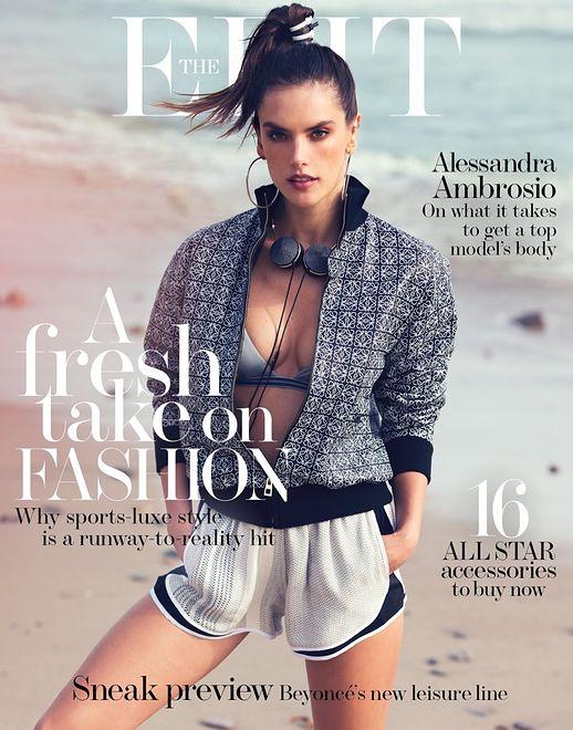 "Alessandra Ambrosio w ""The Edit"""