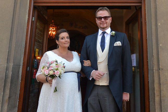 Lubomirski z żoną Heleną